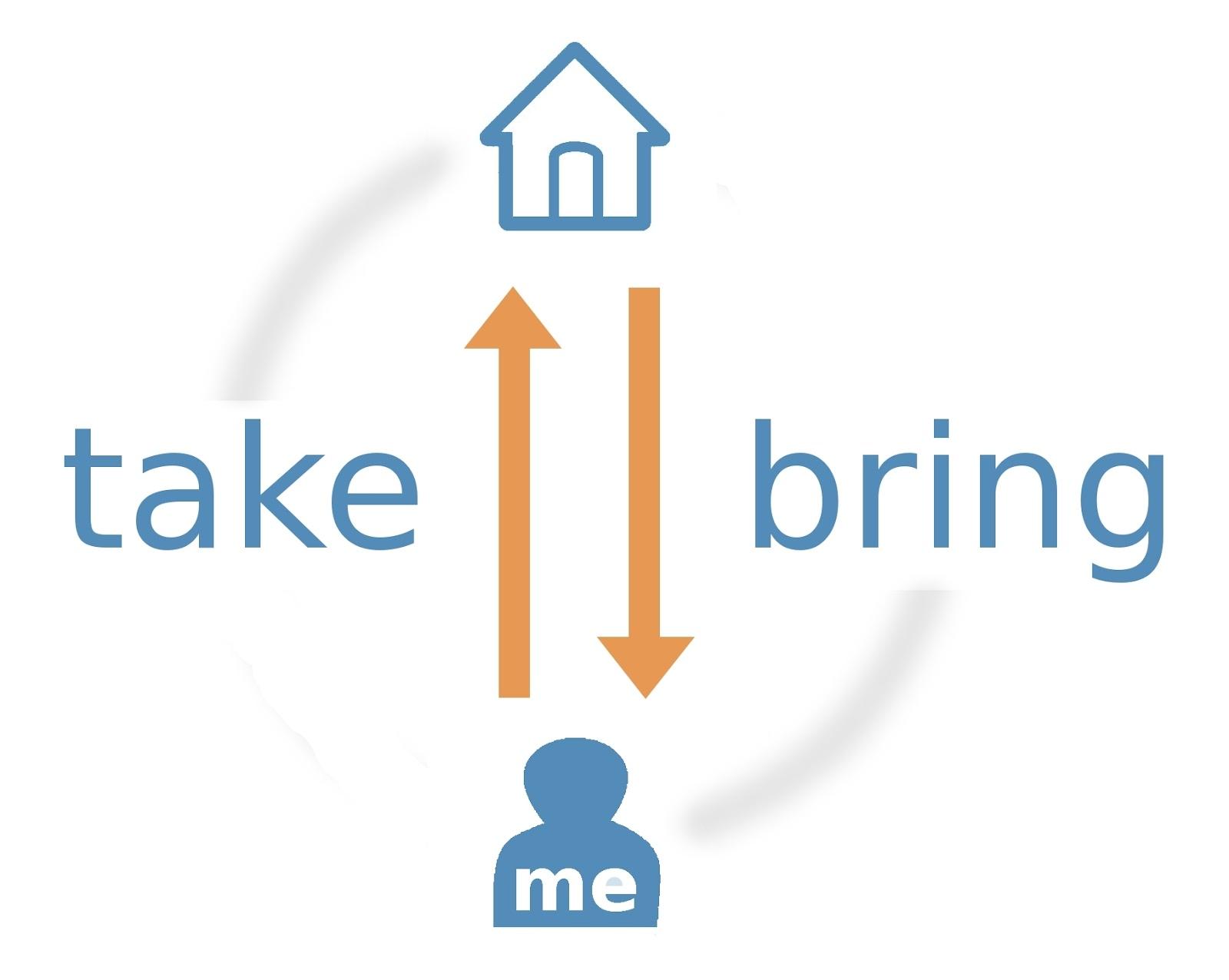 phân biệt động từ take và bring